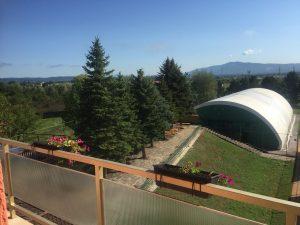 Pogled sa jednog od balkona Doma za starije Sveta Helena